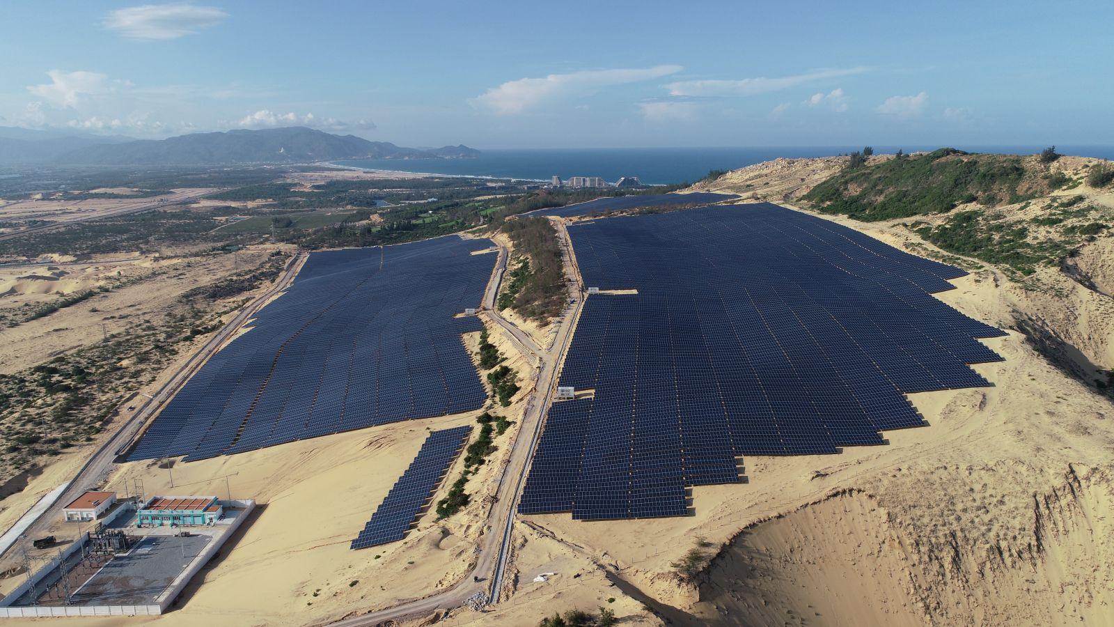 nhà máy điện mặt trời fujiwara Bình Định