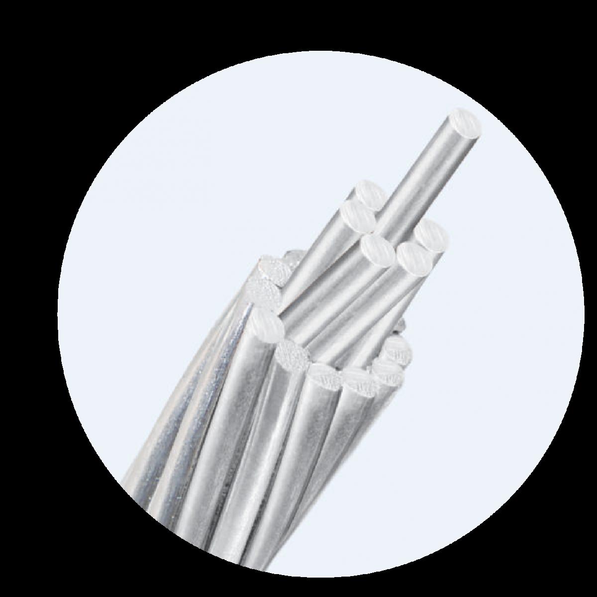 Twisted galvanized steel wire